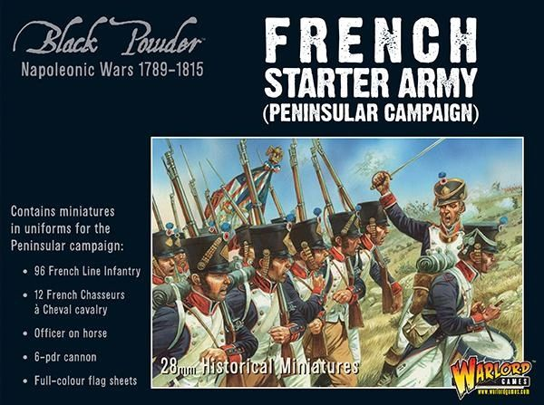 Warlord Games BLACK POWDER Napoleonic French starter army (Peninsular campaign)