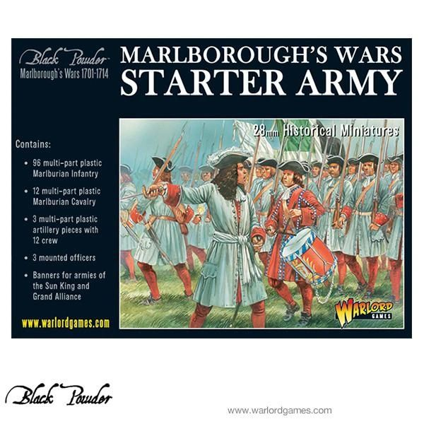 Warlord Games BLACK POWDER Marlborough's Wars Starter Army