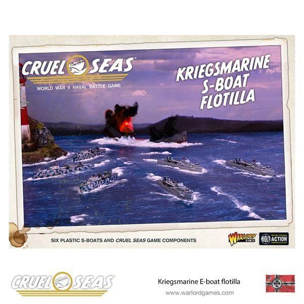 Warlord Games CRUEL SEAS Kriegsmarine S-boat flotilla