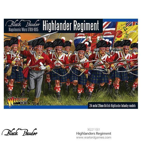 Warlord Games BLACK POWDER Highlanders Regiment