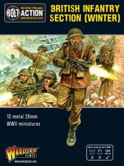 Warlord Games BOLT ACTION British Infantry section (Winter)