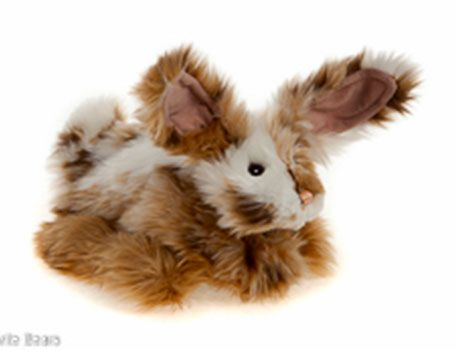 HALF PRICE! Charlie Bears MEADOW Bunny Hand Puppet