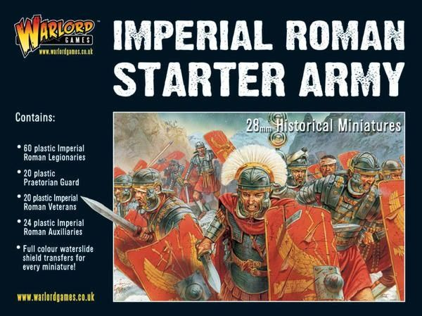 Warlord Games HAIL CAESAR Imperial Roman Starter Army Boxed Set