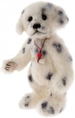 SPECIAL OFFER! Charlie Bears Minimo POLKA DOT Dalmation 20cm (Limited to 1200 Worldwide)