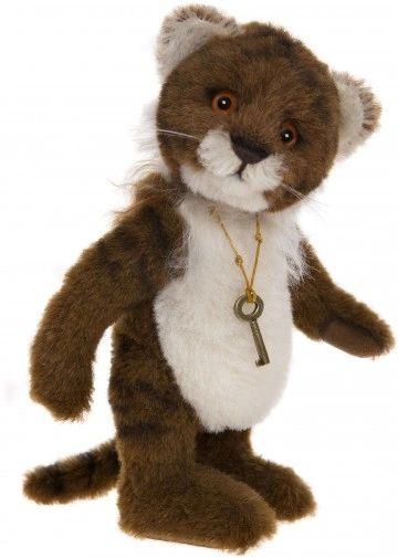 SPECIAL OFFER! Charlie Bears Minimo TIGERLILLY Tiger 19cm (Limited to 1200 Worldwide)