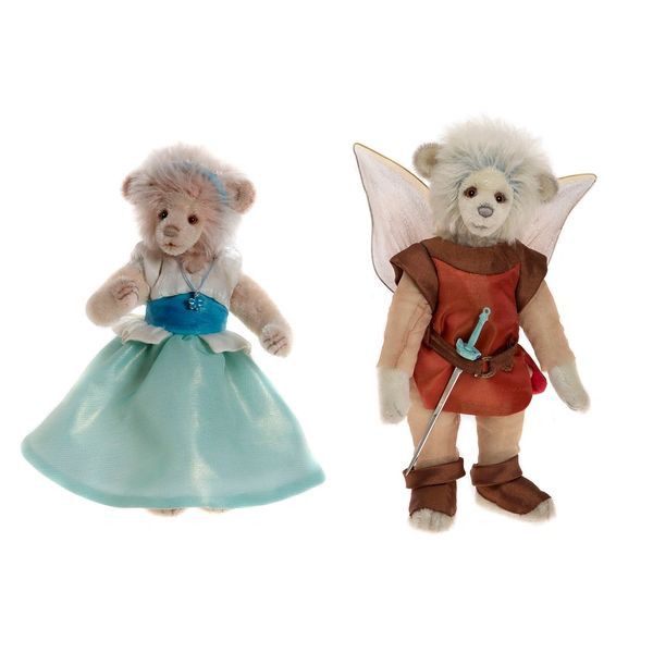 LAST SET! 2017 Charlie Bears Isabelle Mohair THUMBELINA & THE KING OF THE FAIRIES (Limited Edition 200 Worldwide) 27/28cm