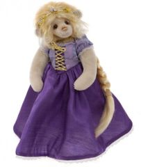 JANUARY SALE! Charlie Bears Isabelle Mohair RAPUNZEL 29cm (Limited to 150 Worldwide)