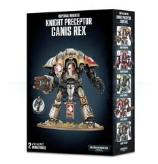SALE NOW ON! Imperial Knights Knight Preceptor Canis Rex (INSTORE ONLY)