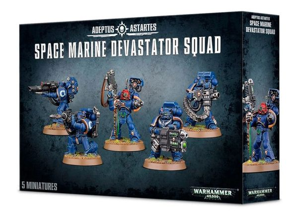 ON SALE NOW! Space Marine Devastator Squad (INSTORE ONLY)