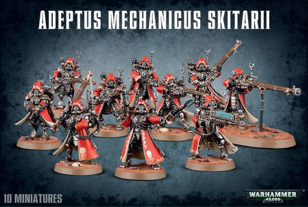 SALE NOW ON! Adeptus Mechanicus Skitarii (INSTORE ONLY)