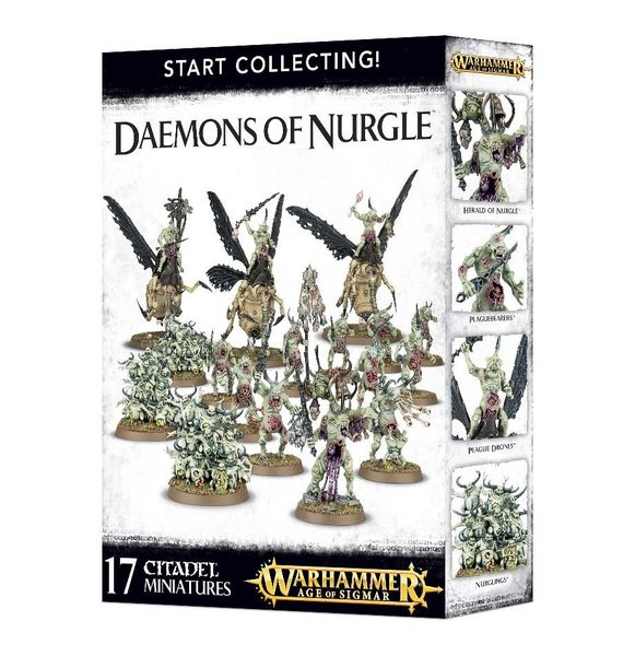 SALE NOW ON! Start Collecting! Daemons of Nurgle (INSTORE ONLY)