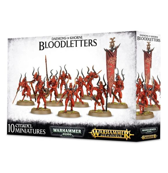 SALE NOW ON! Daemons Of Khorne Bloodletters (INSTORE ONLY)