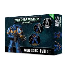 SALE NOW ON! Space Marine Intercessors & Paint Set (INSTORE ONLY)