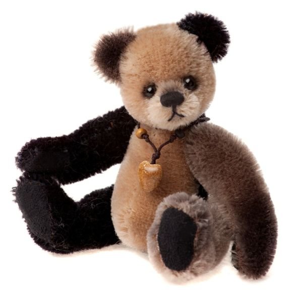 HALF PRICE! Charlie Bears Minimo Mohair Keyring LOAFER 13cm (Limited to 1200 Worldwide)