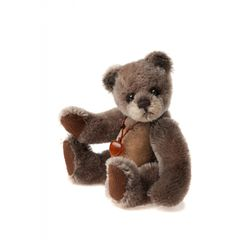 DAILY DEAL 9! UNDER HALF PRICE Charlie Bears Minimo Mohair Keyring MOCCASIN 13cm (Limited to 1200 Worldwide)