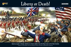"Warlord Games BLACK POWDER ""Liberty or Death"" American War of Independence Battle Set"