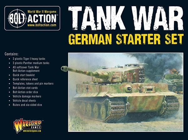 Warlord Games BOLT ACTION Tank War: German starter set