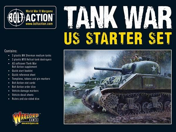 Warlord Games BOLT ACTION Tank War: US starter set