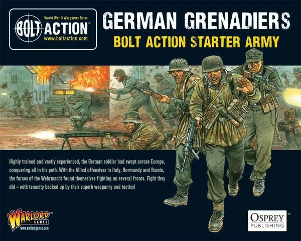 Warlord Games BOLT ACTION German Grenadiers Starter Army