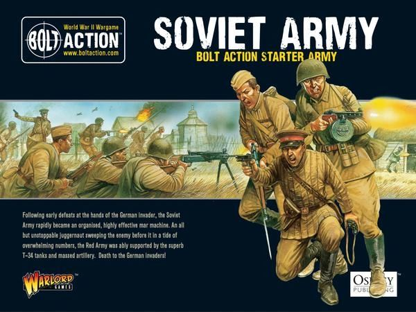Warlord Games BOLT ACTION Soviet Starter Army