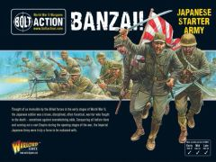 Warlord Games BOLT ACTION Banzai! Imperial Japanese Starter Army
