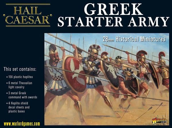 Warlord Games HAIL CAESAR Greek Starter Army