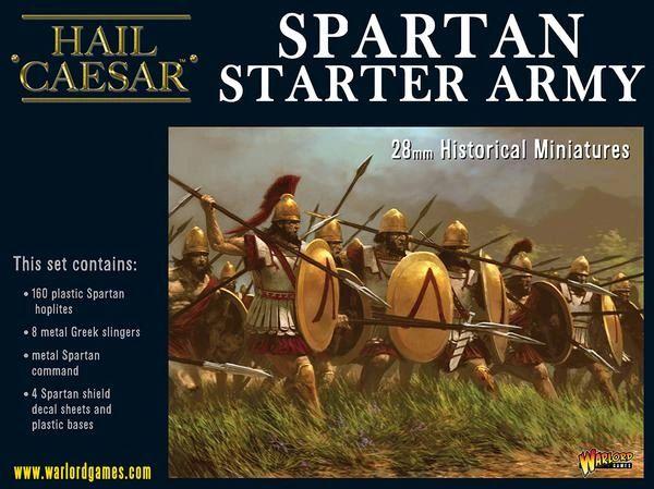Warload Games HAIL CAESAR Spartan Starter army