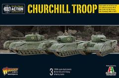Warlord Games BOLT ACTION Churchill Troop Tank Set