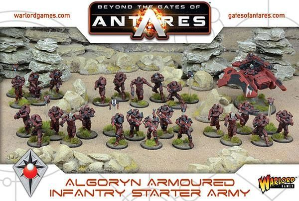Warlord Games BEYOND THE GATES OF ANTARES Algoryn Starter Army