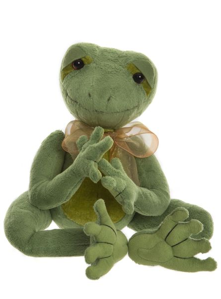 2019 Charlie Bears KISSES Frog from the Fables Series 36cm