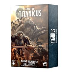 (SOLD OUT) Warhammer Adeptus Titanicus Knight Household Battleforce