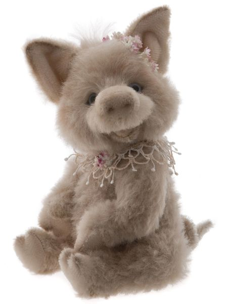 NEW 2019 Charlie Bears Isabelle Mohair PINKY 26cm