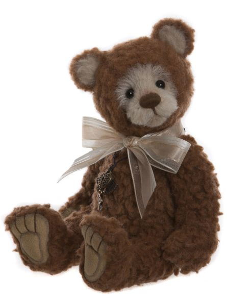 NEW 2019 Charlie Bears Isabelle Mohair TOMMY TED 23cm (Limited to 300 Worldwide)