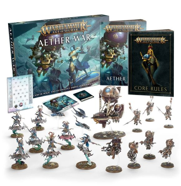 SPECIAL OFFER! Warhammer Age of Sigmar AETHER WAR Box Set (Limited Stock Available!)