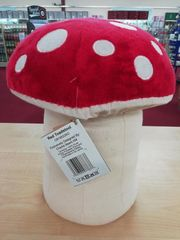 NEW 2019 Charlie Bears RED TOADSTOOL for Fables Display 29cm (Minor Damage - see description)