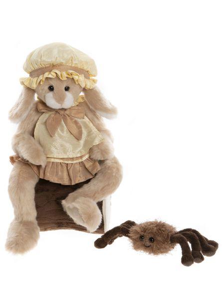 MORE COMING SOON! 2020 Charlie Bears LITTLE MISS MUFFET & INCY WINCY Nursery Rhyme Series 46cm/15cm (Limited to 1000 Worldwide)
