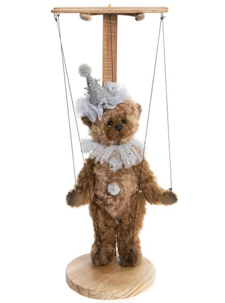 (SOLD OUT) 2020 Charlie Bears Isabelle Mohair CURTAIN CALL 29cm Marionette (Limited Edition of 100)