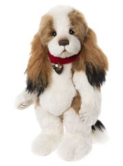 (SOLD OUT) 2020 Charlie Bears Isabelle Mohair FUNNY BONES Dog 29cm (Limited Edition of 180)