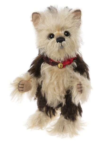 LAST ONE! 2020 Charlie Bears Isabelle Mohair JIMMY CHEW Dog 30cm (Limited Edition of 220)