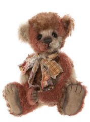 (SOLD OUT) 2020 Charlie Bears Isabelle Mohair PATCHWORK 19cm (Limited Edition of 120)