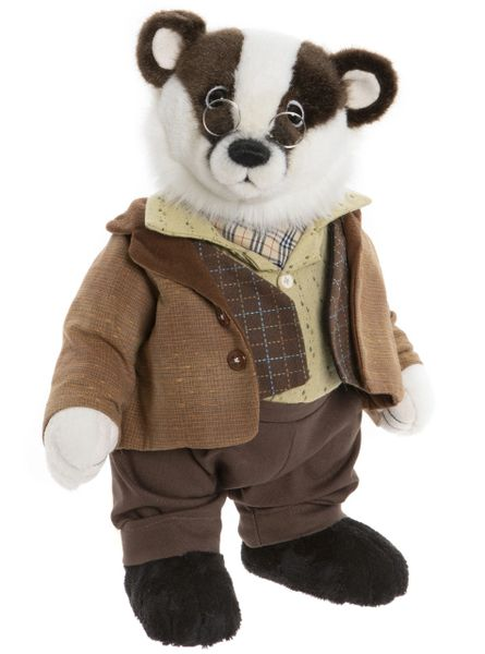 (SOLD OUT) 2020 Charlie Bears BADGER The Wind In The Willows Series 34cm (Limited to 500 Worldwide)