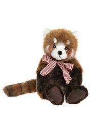 DUE QUARTER 2! 2020 Charlie Bears Bearhouse TRUCKLE Red Panda 25cm
