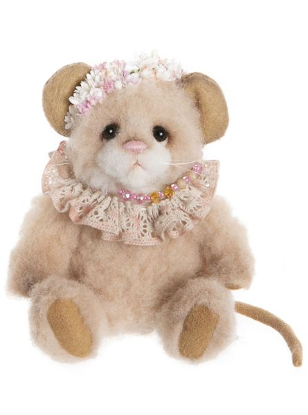 IN STOCK! 2020 Charlie Bears Minimo JASMINE Mouse 14cm (Limited to 600 Worldwide)