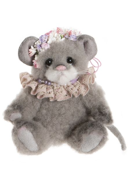 IN STOCK NOW! 2020 Charlie Bears Minimo PEARL GREY Mouse 14cm (Limited to 600 Worldwide)