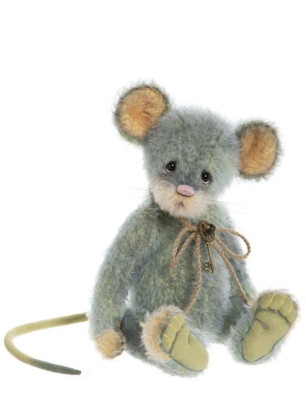 IN STOCK! 2020 Charlie Bears Isabelle Mohair CHIVES Mouse 28cm (Limited to 300 Worldwide)