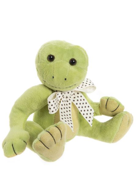 DUE QUARTER 3! 2020 Charlie Bears GONE FISHING Frog Teddie Travels 18cm