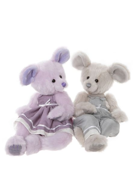 DUE QUARTER 3! 2020 Charlie Bears JACK & JILL Mice 33cm/33cm (Limited to 1000 Worldwide)