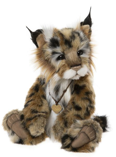 IN STOCK! 2020 Charlie Bears MISCHIEF MAKER Lynx Cub 33cm (Maximum 1 per customer)