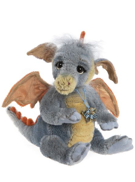 DUE QUARTER 3! 2020 Charlie Bears Minimo FLAME Baby Dragon 18cm (Limited to 600 Worldwide)