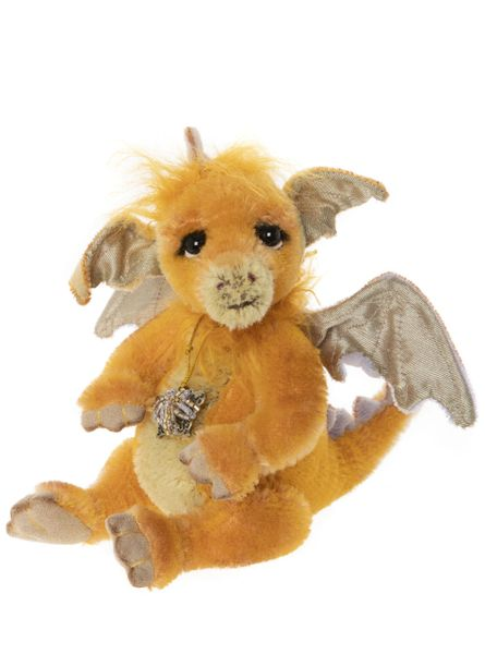 DUE QUARTER 3! 2020 Charlie Bears Minimo VESTA Baby Dragon 18cm (Limited to 600 Worldwide)